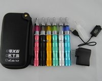ingrosso sigaretta x6 mod-eGo X6 Variable Voltage 1300mah Kit di avviamento batteria Sigarette elettroniche Protank Vaporizzatore Clearomizer Atomizzatore vape pen mod Kit custodia