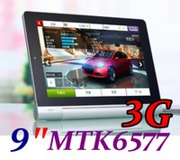 Wholesale Dual Sim Android Mtk6577 - 9 inch MTK6577 Android 4.2 Tablet PC Dual Core Phablet 1.2GHz 512MB ROM GSM 3G WCDMA Sim card slot Bluetooth GPS Folding Standby TA97