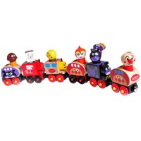 Wholesale Educational Train Toys - 2015 Kawaii Magnetic Children's Educational Train Toys Magnetic force link Machine Brinquedos Infantis For Kids Learning Gift