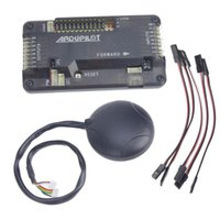 Wholesale Multirotor Helicopter - F14586-C APM2.8 APM 2.8 RC Multicopter Flight Controller Board with Case 6M GPS Compass for DIY FPV RC Drone Multirotor