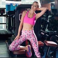 Wholesale Running Panties Pants - women Bottoms S M L XL woman Capri leggings running pants female yoga pants 2color free shipping