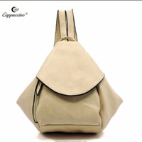 Cappuccino New Classical 2018 Moda Colorful Leisure Descapotável Slouchy Stylizated Grande Tote Backpack bonito para mulheres