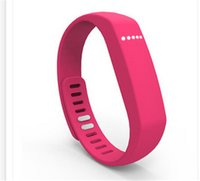 pulsera flexible al por mayor-Fitbit Flex Pulsera similar actividad inalámbrica Sleep pulseras Smart Wristbrands Monitor de distancia Rastreador para Iphone Ios Miui Android