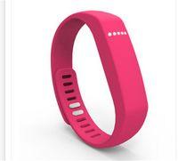 ingrosso iphone dei gps dei giocatori dei capretti-Fitbit Flex simile Wristband Wireless Activity Sleep Braccialetti Smart Wristbrands Distance Monitor Tracker per Iphone Ios Miui Android