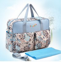 Wholesale Cheap Diaper Bag For Baby - Cheap Fashion Mommy Bags for Baby,Diaper Bag Fashion,Kids Mother Big Baby Bag Diaper Nappy Changing,Blue,Pink,Free Shipping