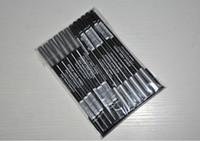 Wholesale Eye Liner Brand Makeup - 12Pcs Lot Cosmetics Brand Black Eye Liner Pencil Aloe Vera & Vitamine 1.5g Makeup Waterproof Eyeliner Pen