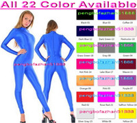 Wholesale sexy green catsuit - Sexy Body Suit New Color Lycra Spandex Suit Catsuit Costumes Unisex Cosplay Costumes Sexy Bodysuit Halloween Fancy Dress Cosplay Suit