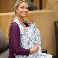 Wholesale Breastfeeding Blankets - Women Mum Udder Covers Breastfeeding Nursing Cover Nursing Privacy Wrap Baby Infant Cotton Blanket Shawl Nursing Poncho Cotton Blanket Cloth