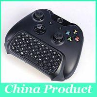 deckt für ps vita großhandel-NICHT russische Laptoptastatur New Professional 1PC Mini 2.4G drahtlose Tastatur 10M für Microsoft Xbox One Console Controller Schwarz 010211