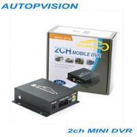 Wholesale Mini 2ch Sd Dvr Video - Mini 2CH SD DVR Video Recorder Surveillance CCTV Motion Max