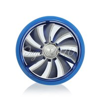 Carro Universal Azul Fuel Gas Saver Supercharger Para Turbine Intake Air Turbo Charger Fan Turbocharger Frete Grátis