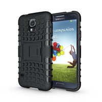 Wholesale New Galaxy S5 - New Armor Heavy Duty Hybrid Stand cell phone Cover with stand for Samsung Galaxy S5 I9600 G900 Case