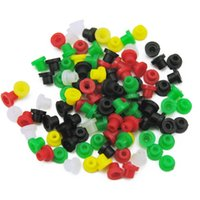 Wholesale tattoo nipples resale online - Colorful Tattoo Machine Needles Rubber Nipples Tattoo Supplies Accessories