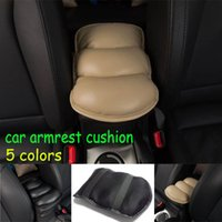 Centre Véhicule Universal Car Accoudoirs Auto Cover Console Appuie Seat Box Soft Pad Mats PU Coussin