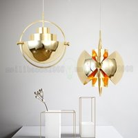 Wholesale spherical led lights - BE125 Modern Personality Restaurant Deformed Villas Chandeliers Lamp Cafe Semi Spherical Bedroom Bedside Living Room Lamps Lighting