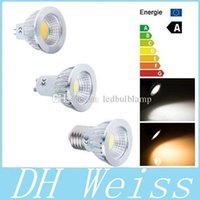 COB 6W 9W 12W Dimmable LED GU10 E27 E26 Spots 120 Angle High Power GU5.3 / MR16 ampoules LED Froid / Chaud Blanc