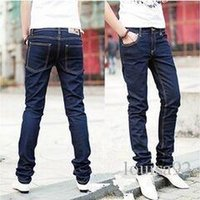 Wholesale fashion designing mens wear - New Free Design Retail Fashion High Quality Nostalgic style Cotton Mens Jeans Men Jeans Breathable Sports Wear Jeans