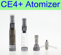 Wholesale X6 Atomizer Tank - CE4+ plus Atomizer 1.6ml replaceable coil 8 colors tank vaporizer clearomizer for ego battery EVOD X6 X9