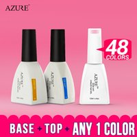 Wholesale New Nail Trends - 2016 New band Azure temperature color gel polish fashion trend changing color 3pcs lot Nail Gel Polish 30 colors optional