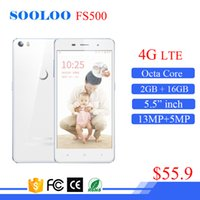 Niedriger preis 5,5 Zoll 13MP Kamera Android 4G LTE 2 GB RAM 16 GB ROM China Octa Core Handy smartphone
