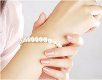 Wholesale Cheap Pearl Ring For Women - New Fashion Pearls Bracelet For Women Engagement Party Luxury Wedding Bracelets Gift 2017 Hot Sale Fast Shipping Cheap
