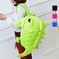 Atacado-2015 Designer Mochilas Mulher Cartoon Animal Shoulder School Bag Para Meninos Adolescentes Chameleon Lizard Travel Sports Bag