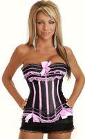 Wholesale Woman S Leather Underwear - Wholesale-Sexy Women Vest Waist Training Corset Spandex Cincher Leather Top & Thong Leotard Bodysuit Erotic Red Lace Up Back Underwear
