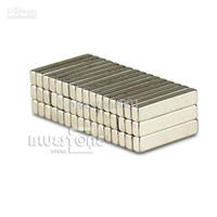 barra de selo venda por atacado-100 pcs Ímãs de Bloco de Barra Forte Neodímio de terras raras 15 x 3 x 2mm Ímãs de estampagem para estampagem DIY usando