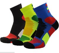 Wholesale Wholesale Men Sucks - Basketball socks towel bottom men sports socks to suck sweaty and breathable socks