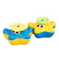 Summer Water Squirter Splash Spray Starfish Ruota Infant Interactive Educazione Bagno Vasca Doll per Kid Baby Bath Toy