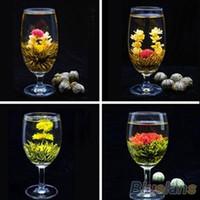 Wholesale Blooming Tea Art - 2015 New Wholesale 16 styles kinds Blooming tea Technology Scented tea Art Jasmine flower Free shipping