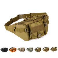 Wholesale Large Capacity Waist Packs - EverToner Tactical Fanny Packs Tactical Pockets, Waist Bag MOLLE Outdoor Travel Large Capacity Waterproof Pockets
