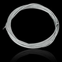 Wholesale Cycle Gear Cables - Hot sale Bicycle Cycling Bike Shift Shifter Gear Brake Cable Line Sets Core Inner Wire Steel Silver Color order<$18no track