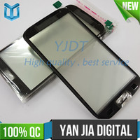 Wholesale S3 Oem Front Glass - OEM Front Outer Glass Lens Screen Digitizer with OCA glue For Samsung Galaxy S3 i9300 S III Touch Screen Cover DHL Free Shipping