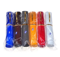 Wholesale Reading Glasses Metal Tube - Portable Folding Metal Frame Reading Glasses Pen Tube Carry Case Men Women Presbyopia Eyewear +1 +1.5 +2 +2.5 +3 +3.5 +4.0