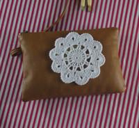 handgefertigte häkeltücher groihandel-handgemachte gehäkelte Deckchen Applique Blume, Spitze häkeln Deckchen Tasse Matte Vase Matte Coaster 11cm / 4.4