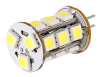 Wholesale Dc Saving Lamp - Led lighting G4 5050 SMD DC 12v 18led 4w crystal lamp light beads corn light energy saving lamp