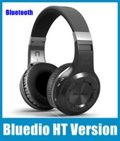 Wholesale New Version Headphones - New Arrival Headphones Bluedio HT Version 4.1 Bluetooth Wireless Headset For Mobile Phone And Computers EAR113