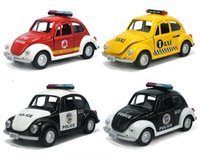 Wholesale Police Toy Car - Alloy Car Model, Police Vehicles Toy, The Beatles Car Model,Pull Back Car, with Music, Kids Toy, Gifts, Collection, Decorations
