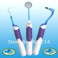 Wholesale Teeth Whitening Pen Light - Super Bright Lighted LED anti-fog Dental Mirror teeth Mouth Mirror kits Dental Mirror , Tooth Stain Eraser , Plaque Remover