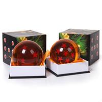 ingrosso pvc palla 7cm-Dragon Ball Z Super Big 7CM Animazione DragonBall 7 Stelle Crystal Ball nuovo in scatola trasporto libero al minuto