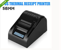 Wholesale Wholesale Label Printers - Mini Portable 5890T Thermal Printer Paper Width 58MM Thermal Direct Line Printer Compatible Windows System For Receipt Label