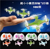 Wholesale Toy Helicopter Rotor - Hot selling Toys and children's products Cheerson CX-10 CX10 2.4G Remote Control Toys 4CH 6Axis RC Quadcopter rc helicopter from goodmemory