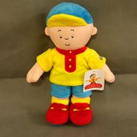 "Wholesale Caillou Rosie Plush Doll - Free Shipping New Caillou Rosie Plush Toy Soft Plush Doll Stuffed Figure Toy Doll 12"" New"