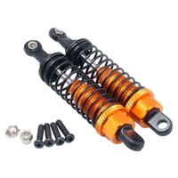 Wholesale Wltoys Buggy - RC WL 959-31 Orange Alum Front Shock Absorber 2P For WLtoys L959 Off-Road Buggy