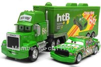 Wholesale Cars Toys 86 Truck - Pixar cars 2 Toys Diecast Metal MACK hauler MACK TRUCK + Chick Hicks Racing NO.86# Kids TOY