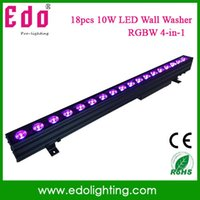 Wholesale Wall Washer 18 - Wholesale-2015 New 180W outdoor Led bar light with 18*10 Watt LED wall washer LED rgbw 4in1 IP65 Waterproof