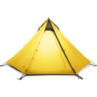Wholesale ultralight person tent - Wholesale- 3F UL GEAR Ultralight Outdoor Camping Teepee 15D Silnylon Pyramid Tent 2-3 Person Large Tent Waterproof Backpacking Hiking Tents