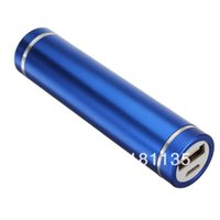 Wholesale External Charger Iphone 3g - Colorful 2600mAh USB Power Bank External Battery Charger For iPhone 5 4 4S 3GS 3G For Samsung i9300 For HTC For Nokia Lumia 520