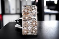 Wholesale Bling Blackberry Covers - Diamond Crystal Hard 3D Handmade Luxury Bling Jewelled Rhinestone Case Cover For iPhone Samsung Galaxy Huawei XiaoMi LG Sony